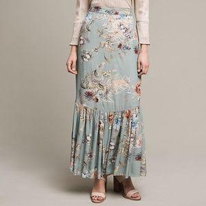 Anthropologie Skirts - Anthropologie NWT floral printed embellished skirt